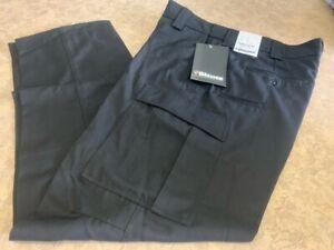 Men's ~BLAUER Wool Blend Active Duty Pants - Black 8561-1 - Size 35x32~ NEW