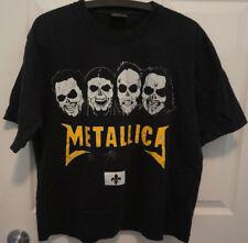 Metallica Sur Les Plaines D'Abraham 2011 Quebec Black T-Shirt Medium VERY RARE