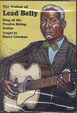 The Guitar of Lead Belly King of the 12-String Guitar Tuition DVD Leadbelly