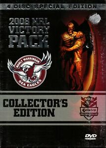 Manly Sea Eagles 2008 NRL Victory Pack 4 Disc Edition