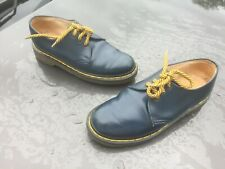 Dr Martens 1461 blue leather shoes UK 5 EU 38 Made in England