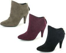 Anne Michelle Zip Slim Textile Shoes for Women