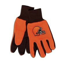 CLEVELAND BROWNS TAILGATE GAME DAY PARTY UTILITY WORK GLOVES NFL FOOTBALL
