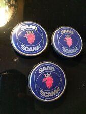 Saab Scania Center Cap Hubcap Wheel Cover P/N 4566311 1997 - 2000 Sold Each