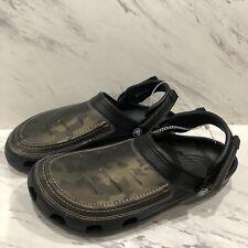 NEW Crocs Men's Yukon Vista Clog Camo Men's US SIZE 9 Sandals Shoes Beach
