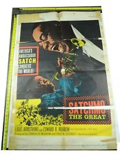 Satchmo the Great Movie Poster, 1957, Original