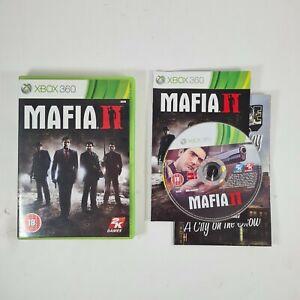 Mafia 2 (II) - Xbox 360 Game with Map and manual free uk postage