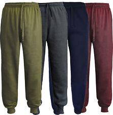 Kids Boys Girls Tracksuit Jogging Bottoms School PE Fleece Trousers pack 1 2 & 4