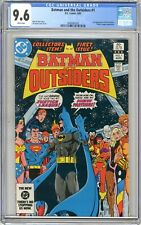 Batman & the Outsiders  #1  CGC  9.6   NM+  White pgs  8/83  2nd App. of the Out