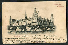 Posted 1904 View of Kronborg Castle, Helsingor, Denmark