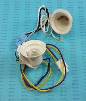 6620JB1001P  LG Kenmore Refrigerator Light Sockets w/Harness; A6-5c