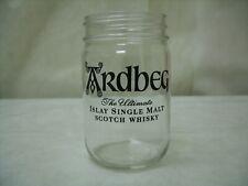 (12) ARDBEG Islay Single Malt Scotch Whiskey - Branded Mason Drinking Glass NEW