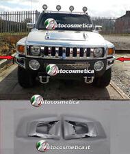 cover angoli paraurto anteriore angolari HUMMER H3 CORNICI profili abs cromo