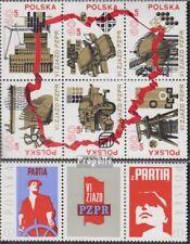 Polen 2124-2131 Zes blok + Drie strips (compleet Editie) postfris MNH 1971 Congr