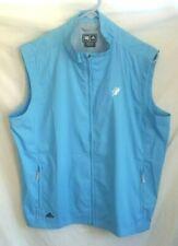 The International 1901 Golf Course Bolton MA Vest Adidas ClimaProof Light Blue