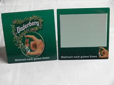 Underberg Tischaufsteller Metall / Blech