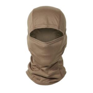 Tactical Camo Balaclava Face Mask Bicycle Cycling Helmet Liner Neck Warm Hat Cap