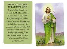 Prayer to St Jude for A Special Favor Lot of 10) Laminated catholic prayer cards