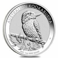 2021 1 oz Australian Silver Kookaburra Coin