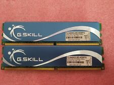 G.Skill 4GB 2X2GB DDR2 PC2-6400 800 MHz 240p NON ECC DESKTOP F2-6400CL5D-4GBPQ