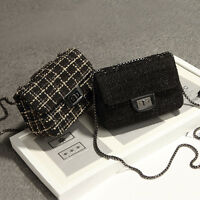 Convertible Boucle Small Mini Single Shoulder bag Chain Purse Crossbody Bag Cute
