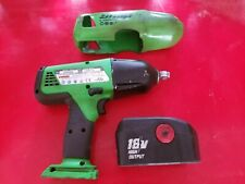 "Snap On 1/2"" Electric Impact Wrench CT6850G W/ 18v Battery"