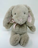 "Pottery Barn Kids Bunny Rabbit Plush 12"" Soft Toy Beige Greige Stuffed Animal"