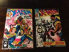 Uncanny X-men 282 & 283 NM+ First Appearance of Bishop High Grade