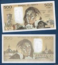 500 Francs Pascal Type 1968 – 2-2-1989 R.292 Qualité NEUF