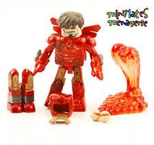 Marvel Minimates Iron Man Movie Hostile Takeover Damaged Mark III Iron Man