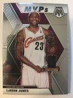 LeBron James MVP's Base Card Cavaliers 2019-20 Panini Mosaic Basketball #298