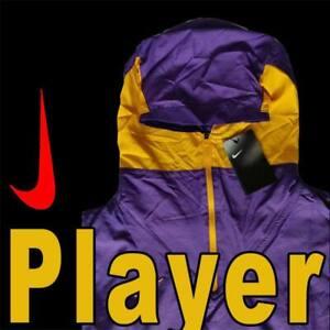 MEN'S NIKE TEAM LIGHTWEIGHT PLAYER JACKET HOODED WOVEN PURPLE GOLD CI4477-548 M