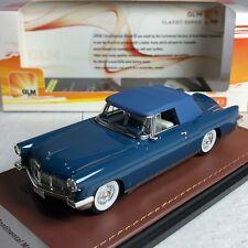 1/43 GLM Continental MK II Blue 1956 Closed Top GLM102702