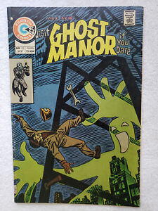 Ghost Manor Vol. 2 #25 (Sep. 1975, Charlton) [VG+ 4.5] Ditko cover and art