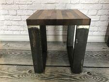 Couchtisch Bistrotisch Holz Eiche Teetisch Beistelltisch Industrial LOFT DESIGN