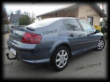 Peugeot 407 Saloon Sedan Rear Boot Lip Spoiler ~PRIMED & PREPARED~