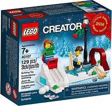 LEGO® Creator 40107 Winterliches Schlittschuh Set NEU_Winter Skating Scene 40106