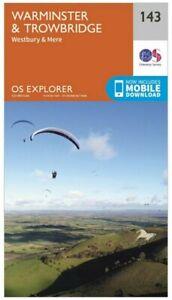 OS Explorer Map 143 Warminster & Trowbridge