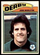 Topps CALCIATORI 1978 Arancione (B1) John Middleton Derby County N.277