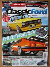Classic Ford July 2015 Escort Mk2 Sport RS1600i Anglia 105E Capri V8 Brooklands