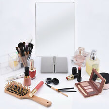 Makeup Mirror Bathroom Adjustable Rectangular Luxury Tabletop Makeup Mirror