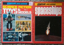 STARLOG Photo Guidebook SCIENCE FICTION  Vol. 1 1st ed.  & SPACESHIPS lot of 2