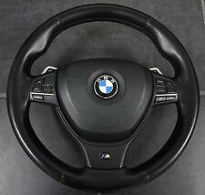 Orig. BMW 5er F10 Multi-función de volante Sport Interruptor giro Airbag Cuero