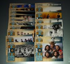 2013 Panini Beach Boys Trading Cards COMPLETE SET Top 10 Hits Cards 1-18