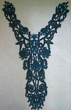 Turchese Perline & Paillettes Motivo ~ (50x24cm)
