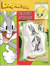 Looney Tunes crochet afghans: taz, tweety, bugs bunny, sylvester ... 2003