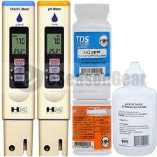 HM Digital COM-80 + PH-80 + PH-STOR + PH-BUF + C342 COMBO - PH/TDS/EC/PPM Meter