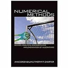 Numerical Methods: Design, Analysis, And Computer Implementation Of Algorithm...