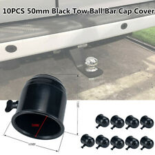 10PCS 50mm Car Van Trailer Tow Ball Bar Cap Cover Towing Towball Protection ABS