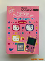 Hello Kitty Game Boy Pocket Limited Console + Sanrio Uranai Party JAPAN